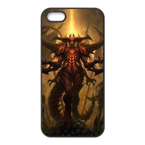 Diablo coque iPhone 4 4S Housse téléphone Noir de couverture de cas coque EBDXJKNBO09250