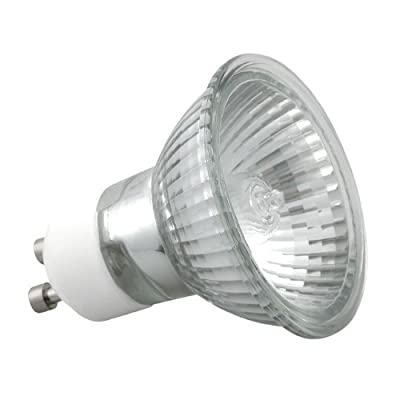 10er Set GU10 20 Watt Halogen-Leuchtmittel - 230 Volt - ALU-Reflektor von EU auf Lampenhans.de
