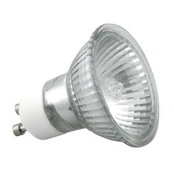 10er set gu10 20 watt halogen leuchtmittel 230 volt alu reflektor beleuchtung. Black Bedroom Furniture Sets. Home Design Ideas