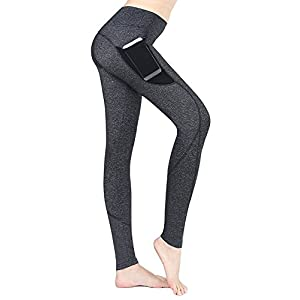 41yCJlCo4SL. SS300  - EAST HONG Women's Ankle Leggings Running Yoga Pants Athletic Tights 2 Side Pockets