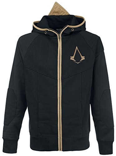 Assassin's Creed Logo Felpa jogging nero/oro XXL