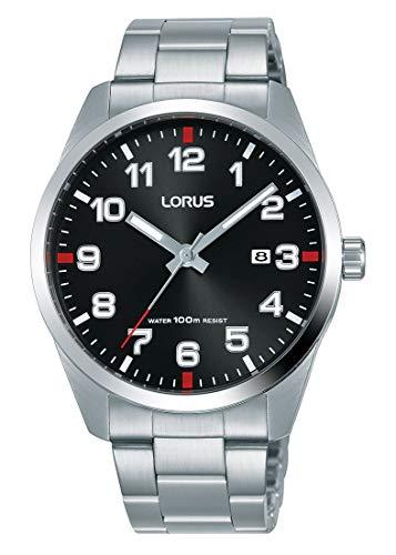 b575576d70b8 Lorus Reloj analogico para Hombre de Cuarzo con Correa en Acero Inoxidable  RH973JX9