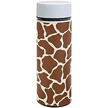 Ahomy - Termo de acero inoxidable con aislamiento al vacío, diseño de jirafa, color