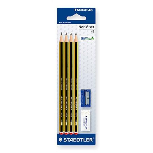 STAEDTLER 120S1 BK4D - Pack de 4 lápices