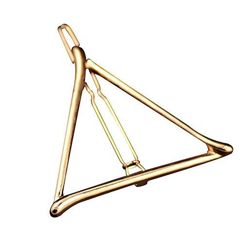 Contever® 1PC Coreano Stile Triangolo Tornante Clip di Capelli Accessori per Capelli Fashion Girl - D'oro - Stile Delle Lettere Set
