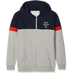 Quiksilver Kumano Kodo Sweat-Shirt à Capuche Sport Garçon Bleu (Navy Blazer BYJ0) 14 Ans (Taille Fabricant: L/14)