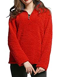 61dd843907 Señoras De Invierno Casual Plus Warm Shaggy Size Faux Fur Sudaderas Ropa De  Manga Larga Collar