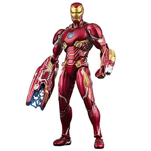 Xiao Jian- Spielzeugmodell, Marvel SHF Avengers 3 Iron Man MK50 Modell Handgefertigte Metallpuppe Kinderspielzeug Geschenk Spielzeugmodell