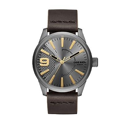 Diesel Reloj Analogico para Hombre de Cuarzo con Correa en Cuero DZ1843