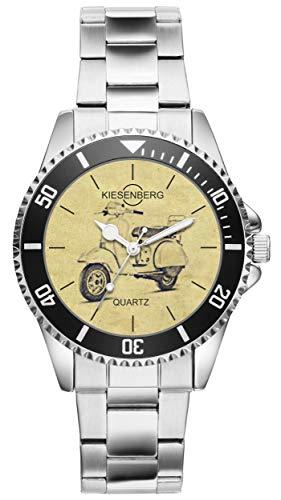 Regalo para Vespa PX Motocicleta Fan Conductor Kiesenberg Reloj 20424