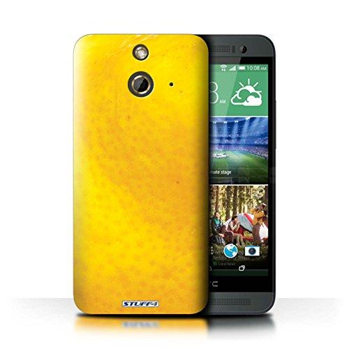 Kobalt® Imprimé Etui / Coque pour HTC One/1 E8 / Raisin conception / Série Fruits Orange / Peau