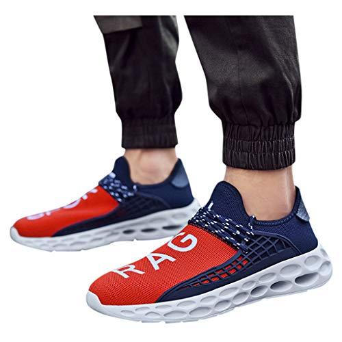 Jujiashoes Scarpe classiche uomo eleganti Scarpe da barca Calzata Natural Confort Uomo Sneakers Traspirante da Ginnastica Corsa Sportive Fitness Running Basse Interior Casual all'Aperto