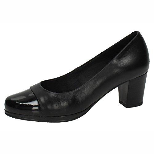 MADE IN SPAIN , Damen Pumps, schwarz - Schwarz - Größe: 39