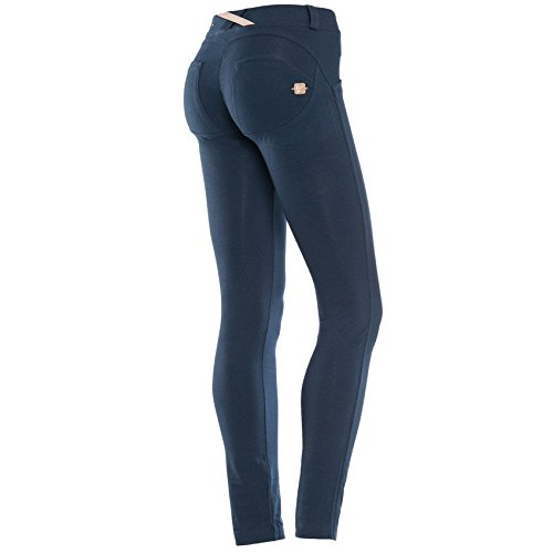 Freddy WR.UP® SHAPING EFFECT - VITA BASSA - SKINNY, PANTALONE DONNA (Blue (B94), S)