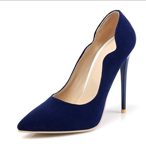 Unisex / Da donna / Da uomo / Per bambina-Tacchi-Matrimonio / Ufficio e lavoro / Formale / Casual / Serata e festa-Tacchi-A stiletto- Blue