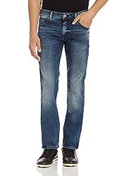 Calvin Klein Mens Skinny Fit Jeans (036182290618_J301201_34W x 32L_Uneven Blue)