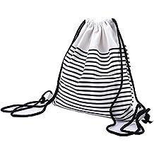 Abaría - Mochila Tela con Cuerdas Bolsas Infantil Mujer niña