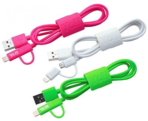 Silva Schneider BA 10DLM cavo di ricarica USB (90cm) con spina 8pin Lightning verde