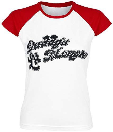 Suicide Squad Harley Quinn - Daddy's Little Monster T-Shirt weiß/rot ()