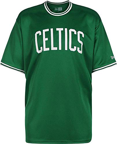 8c518597a8d New Era NBA Tipping Wordmark Boston Celtics T-Shirt Herren grün weiß