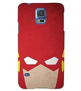 PRINTSHOPPII FLASH SUPERHERO Back Case Cover for Samsung Galaxy S5 G900i::Samsung Galaxy S5 i9600::Samsung Galaxy S5 G900F