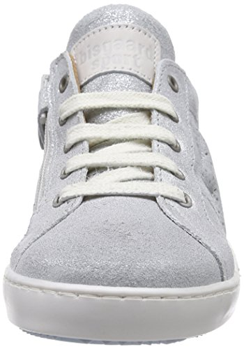 Bisgaard Unisex-Kinder Shoe with Laces Low-Top Silber (01 Silver)