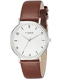 Fjord Analog White Dial Women's Watch- FJ-6037-02