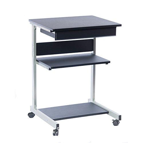 Techni Mobili Modus Computer-Schreibtisch, Metall, Graphit -