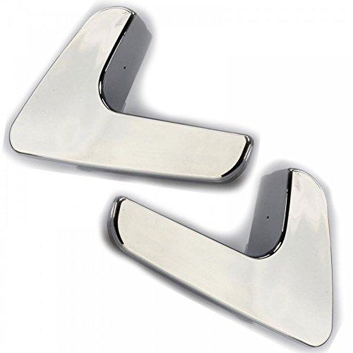 Twowinds - Manillas internas puerta plata Ibiza Córdoba Cromado (2 unidades: derecha + izquierda)