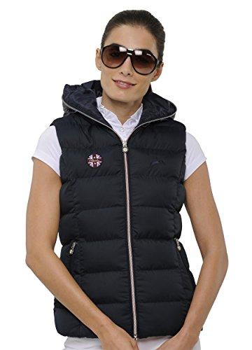 SPOOKS Damen Weste leichte Damenweste Steppweste - Justin Vest Navy XL