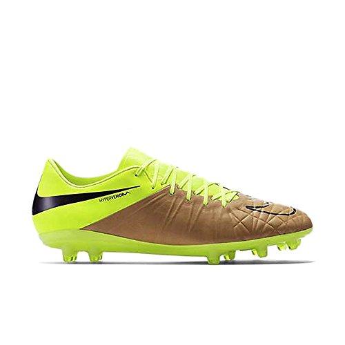half off a22bf cee09 Nike Hypervenom Phinish Tech Craft Fg Soccer Bitta (tela, Volt)