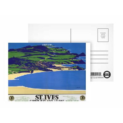 st-ives-postcard-pack-of-8-highest-quality