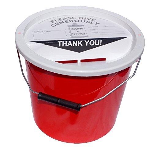 Charity Sammel-Eimer 5.7 Liter - Rot