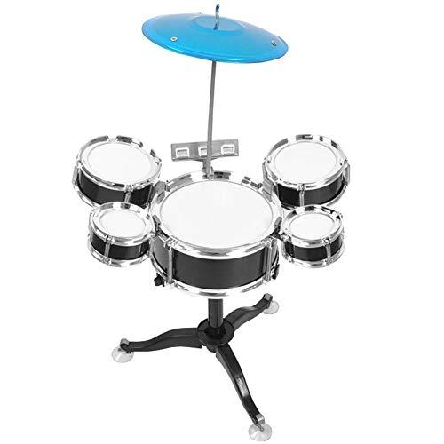 Zerodis Früherziehung Kinder Mini Drum Set Anfänger Drum Kit Musikinstrument für Kinder Früherziehung Puzzle Kinderspielzeug