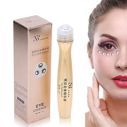 Crème contour des yeux anti-cernes, conception de perles de massage coulissantes, essence raffermissante anti-rides hydratante pour la peau, anti-âge pour les cernes