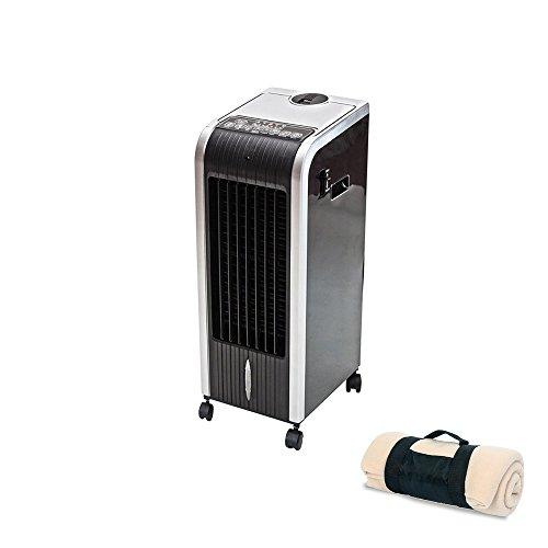 Climatizzatore riscaldatore ventilatore digitale Pinguino freddo 80 W caldo 1000 W-2000 W, umidificatore ionizzatore portatile tutto in uno