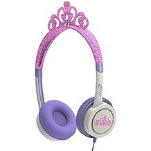 iFrogz Little Rockers Costume - Auriculares de diadema cerrados, diseño tiara rosa