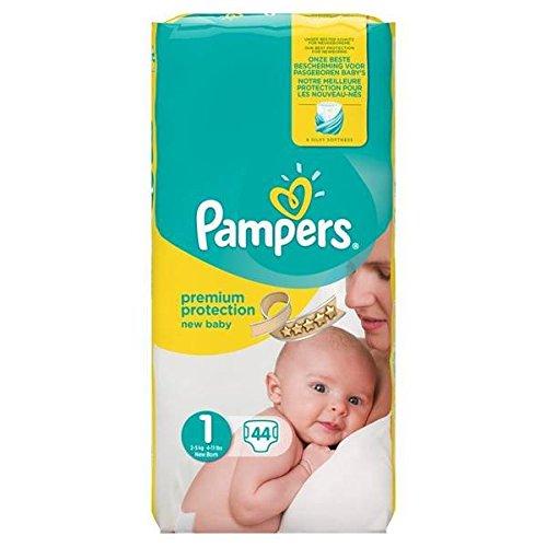 Couches Pampers new baby géant couche bébé T1 x44 - ( Prix Unitare ) - Envoi Rapide Et Soignée