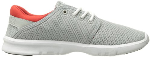 Etnies  Scout W's, chaussons d'intérieur femme Grau (Light Grey/Black/Orange)