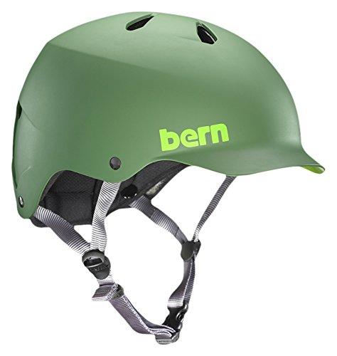 bern-mens-watts-urban-cycling-helmet-matte-leaf-green-small-medium