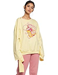 Rheson by Sonam & Rhea Kapoor Women's Sweatshirt with A Twist