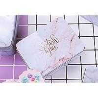 Preisvergleich für Einzigartiges Design Große quadratische Hochzeit Süßigkeiten Geschenk Box Weißblech Keksdose (rot)