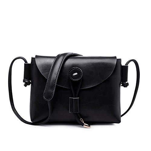 One-spalla piccola borsa/semplice piccoli quadrati pacchetti/retrò-diagonale pacchetto-H I