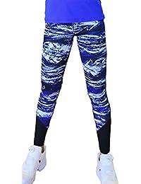 EOZY Collants Leggings De Jogging Imprimé Ciel Étoilé Sport Yoga Femme