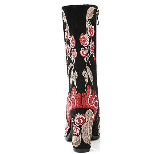 Nine SevenMid Calf Boots - Anfibi donna Black