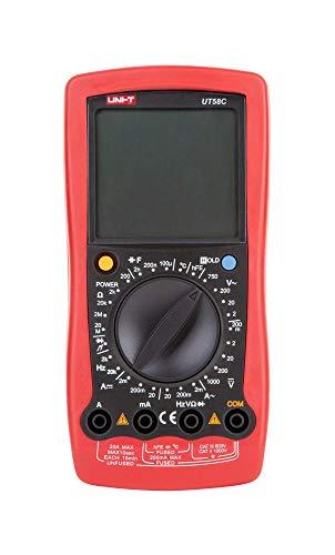 UNI-T, multimetro digitale AC/DC, rilevatore di tensione