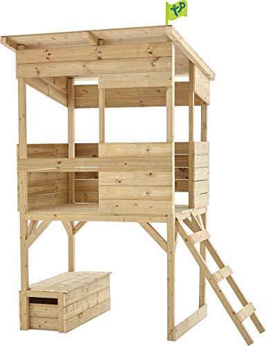 Cabane pêcheur Enfant Coffre à Jouets intégré Tower