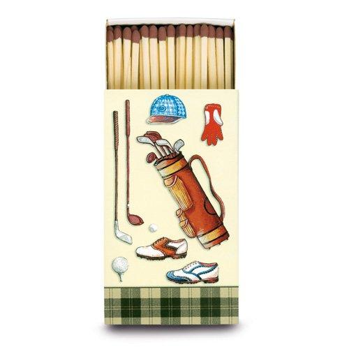Hentzen Streichholzschachtel Motiv Golf, 1 Set = 12 Schachteln