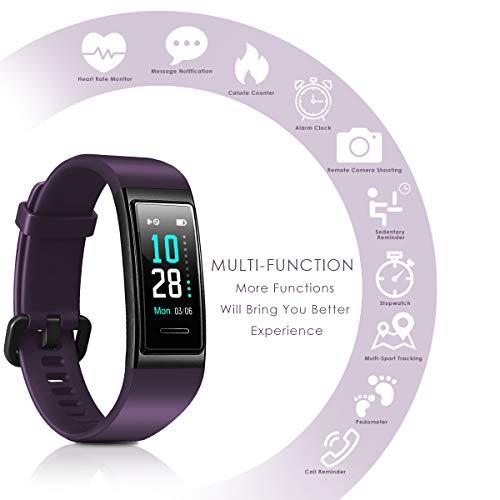 Zoom IMG-1 chereeki fitness tracker orologio bluetooth