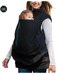 LeKing--Robe de maternité, Sweat à Capuche de Forme Kangourou de maternité  pour fed3ecc3649